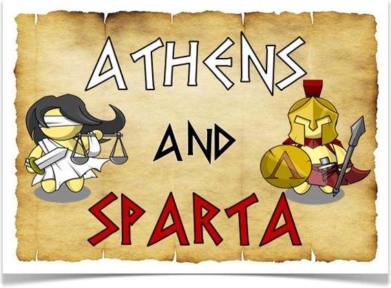 aathens and sparta Take the quiz make sure to show ms cain you score.