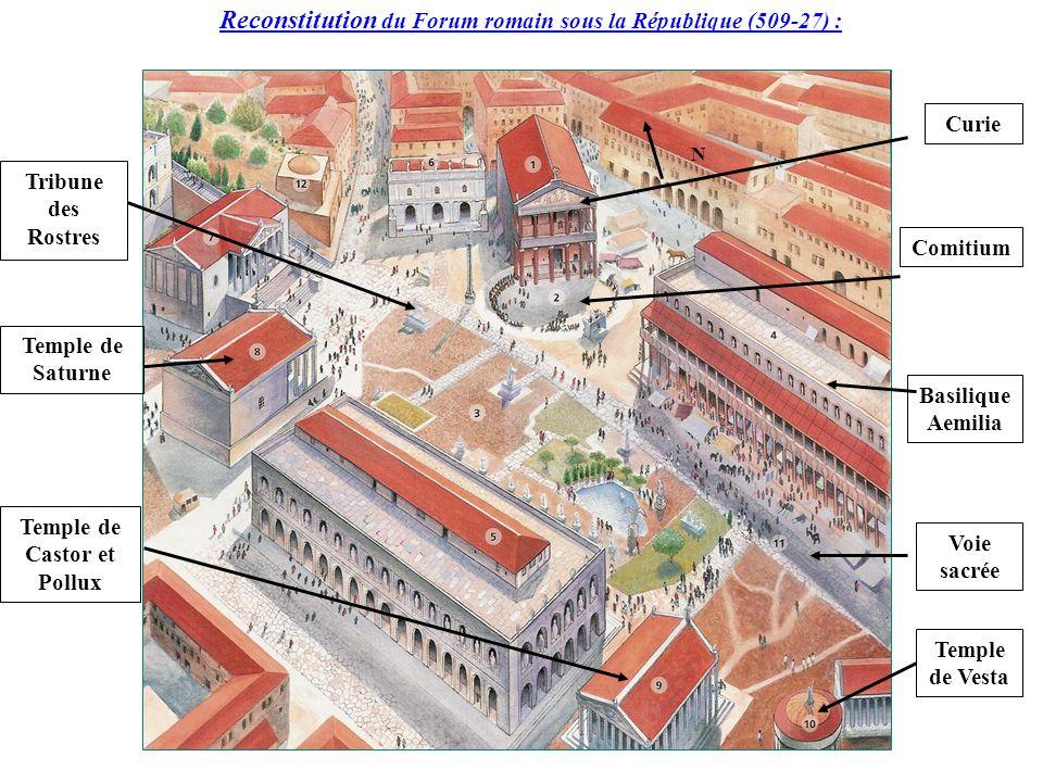 46a3dd34ad01bf 6eD- Plan du forum romain sous la République romaine