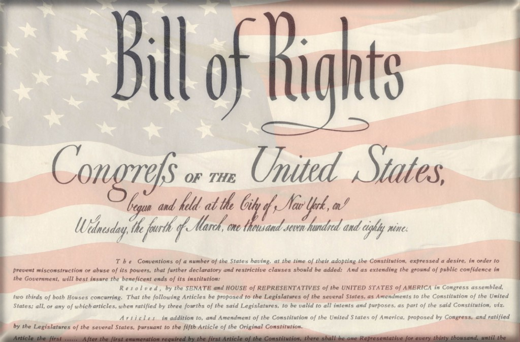 the implementation of the bill of rights in france and the united states A united nations panel of human rights activists has urged the united states states' government to pay reparations to full implementation of.