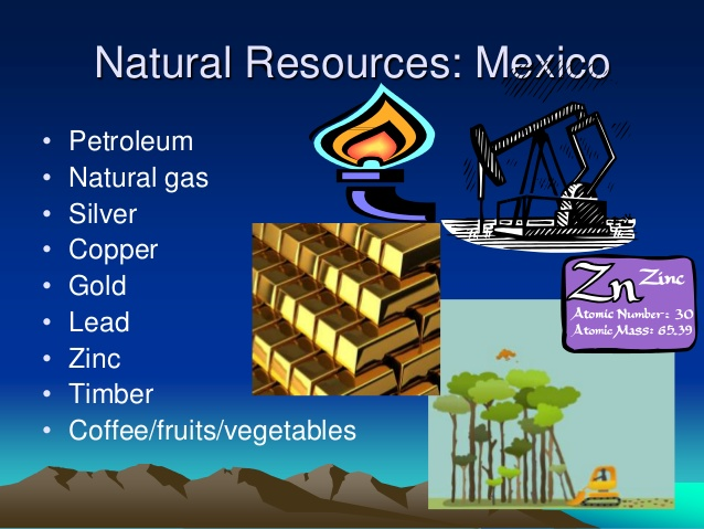 Natural resources in Mexico - ThingLink