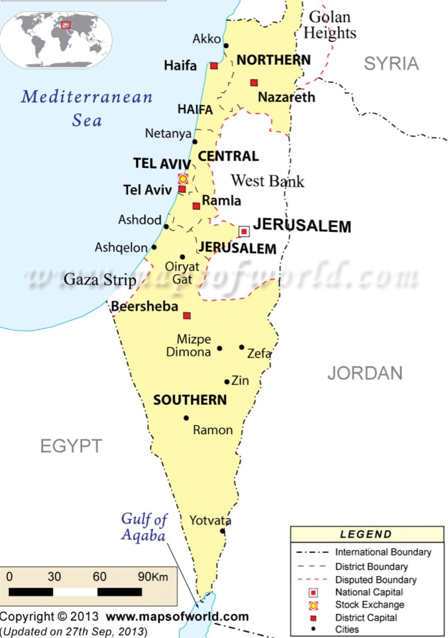 An Interactive Image ThingLink - Jerusalem absolute location