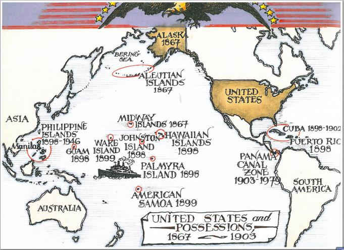 Ailish's Map of US Imperialism on