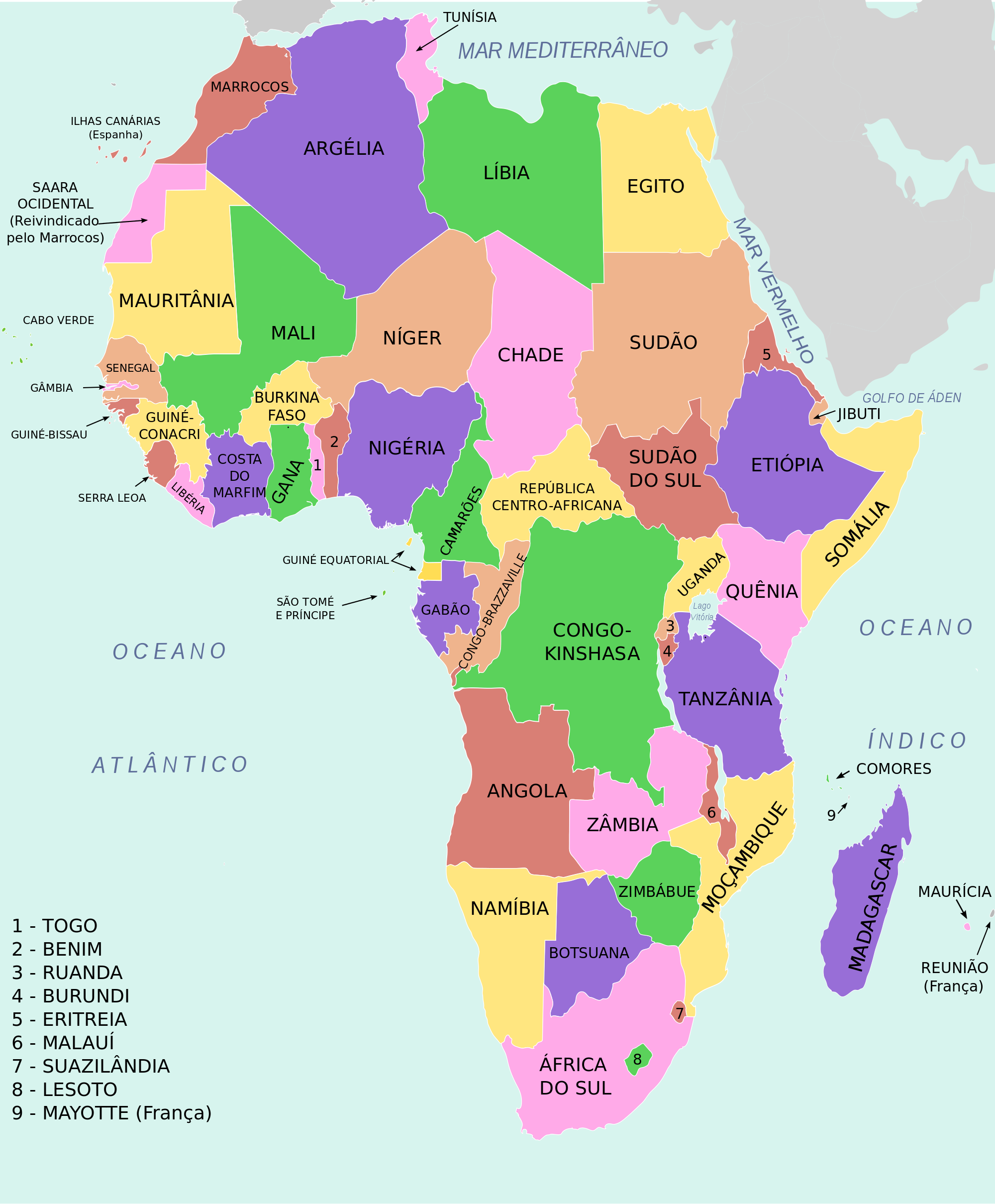 MAPA: África - ThingLink