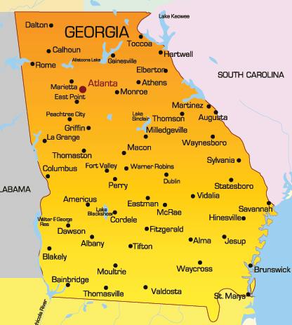 Colonial Map Of Georgia.Colonial Profile Georgia