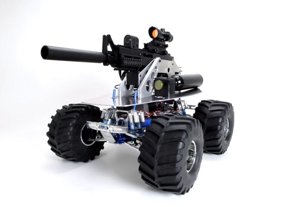 A5 Paintball UGV (Robotic Weapon)
