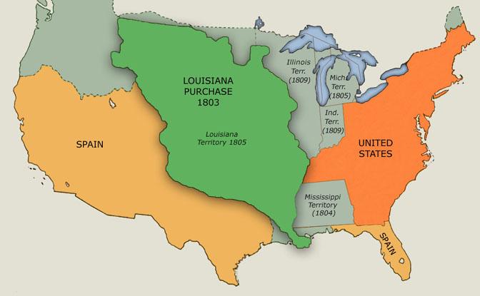 Louisiana Purchase ThingLink