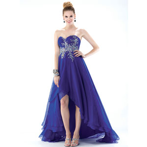 Check out the best blue dresses for Prom 2014 - ThingLink