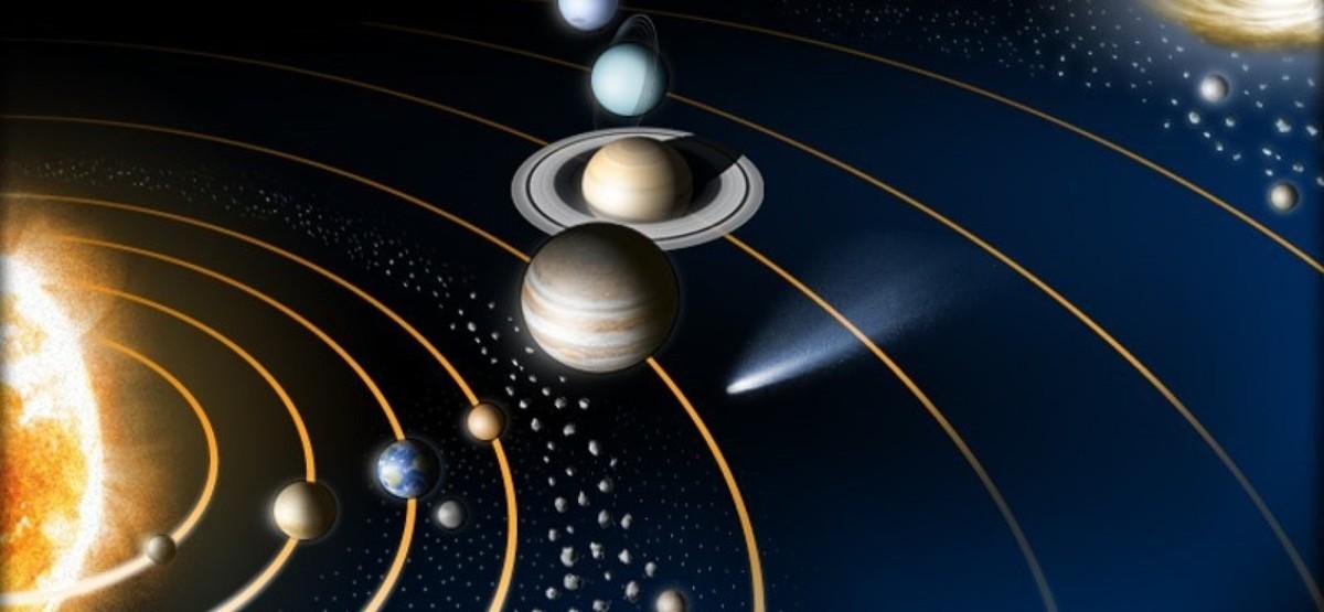 les planetes tournent autour du soleil