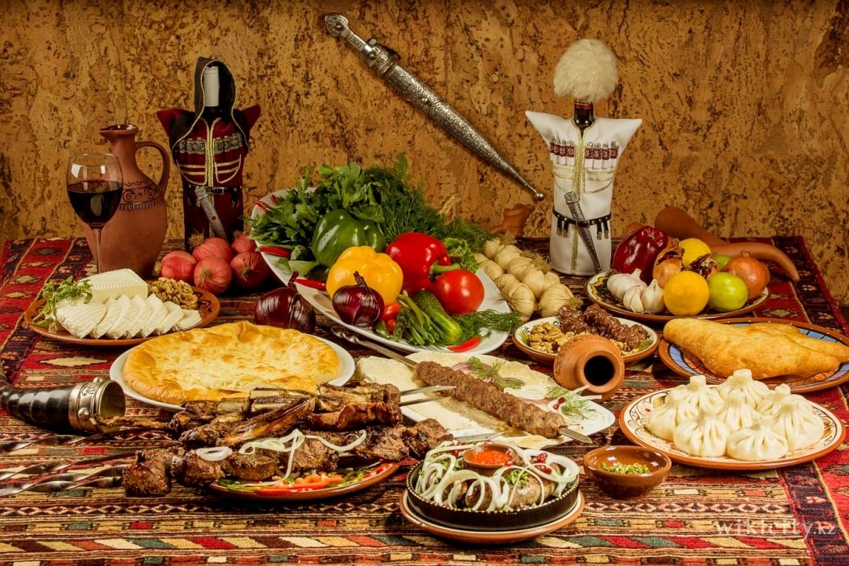 Грузинский стол картинки