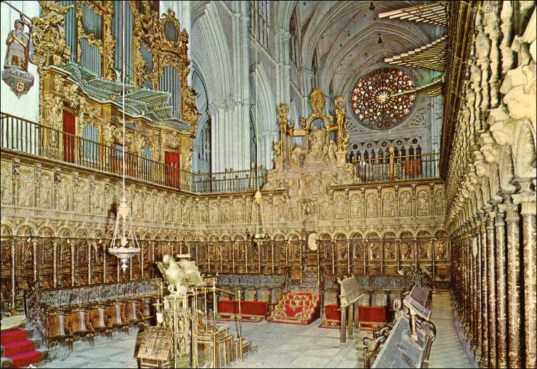 Sillería Del Coro De La Catedral De Toledo Alonso Berruguete