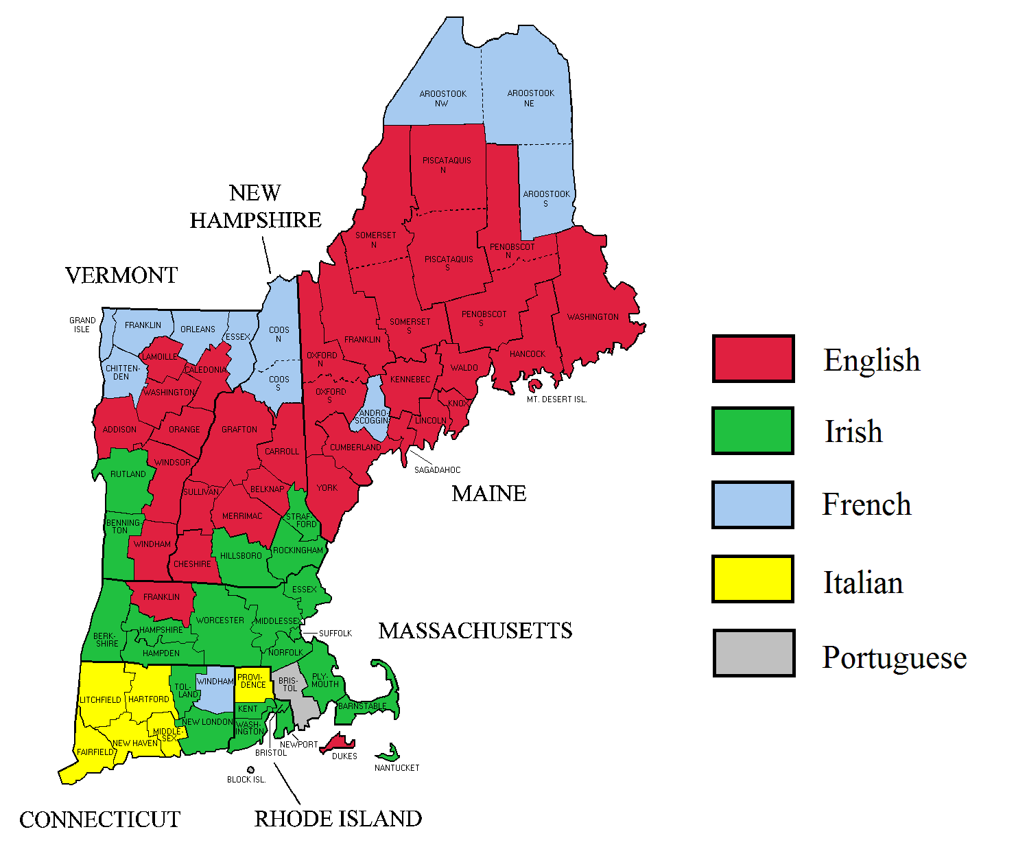 New England Colonies - ThingLink