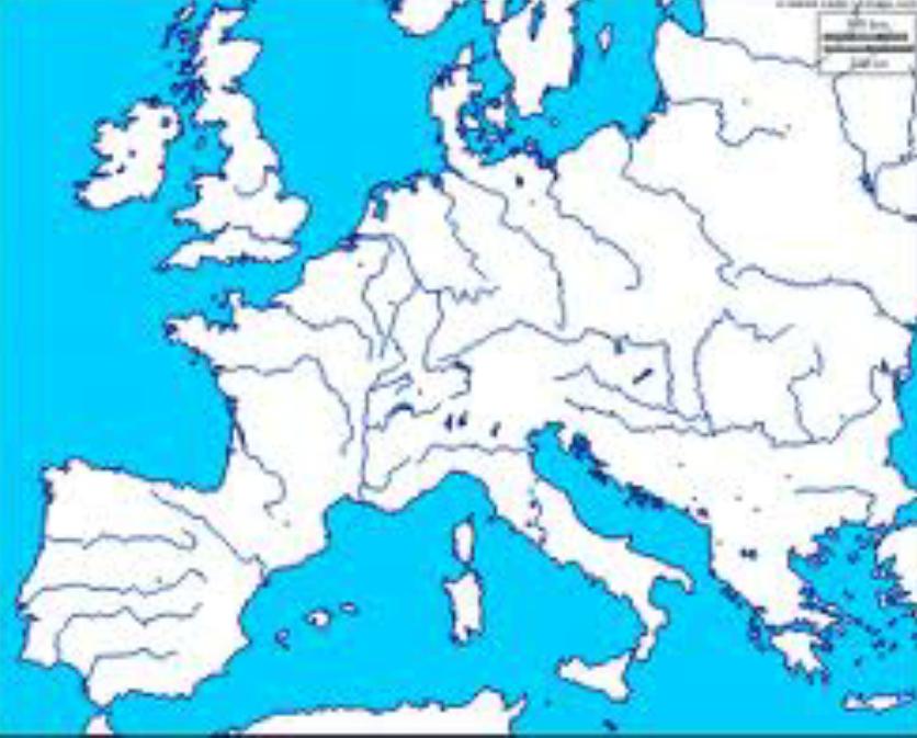 Fiumi Europa Cartina Pieterduisenberg