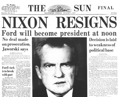 when was nixon impeached
