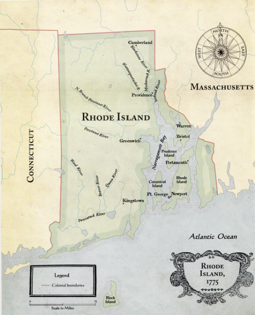 The Rhode Island Colony - ThingLink