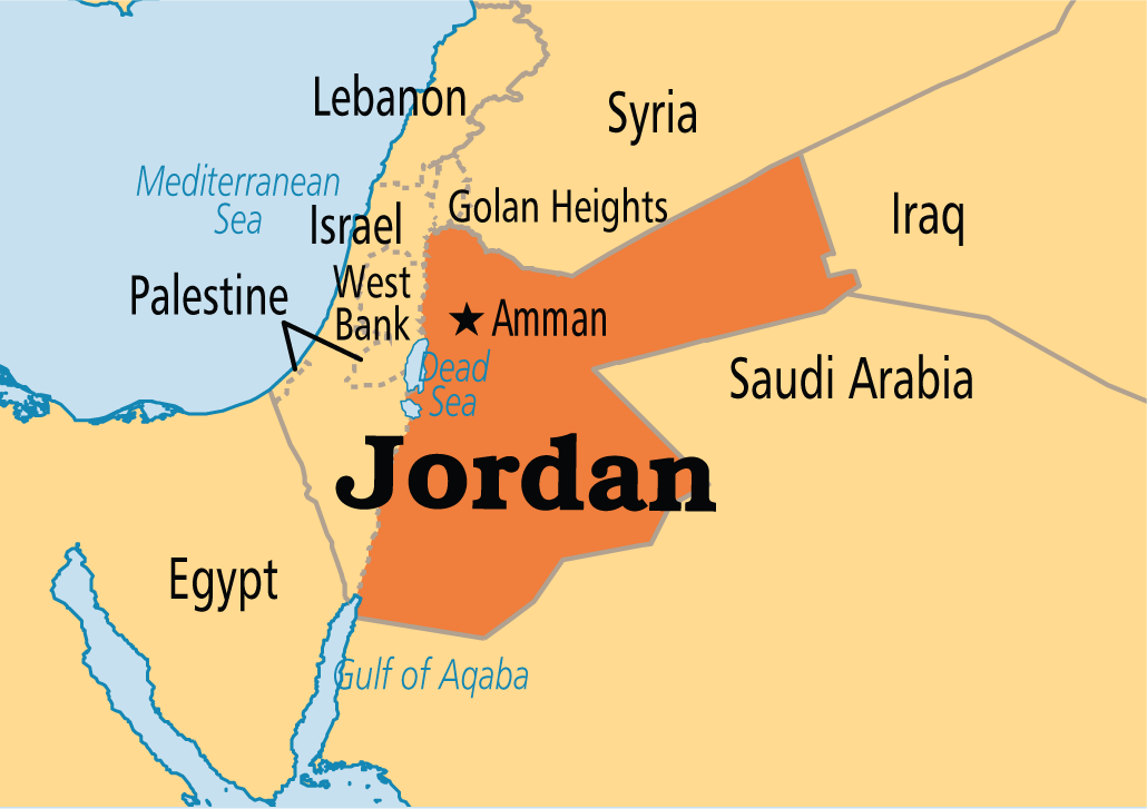 Jordan Map Of Logic ThingLink - World map jordan river