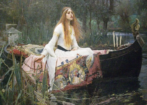 loneliness in the lady of shalott The lady of shalott to sir these three sentences all show her loneliness the first sentence help depict the lady of shallot is based on elaine of astolat.