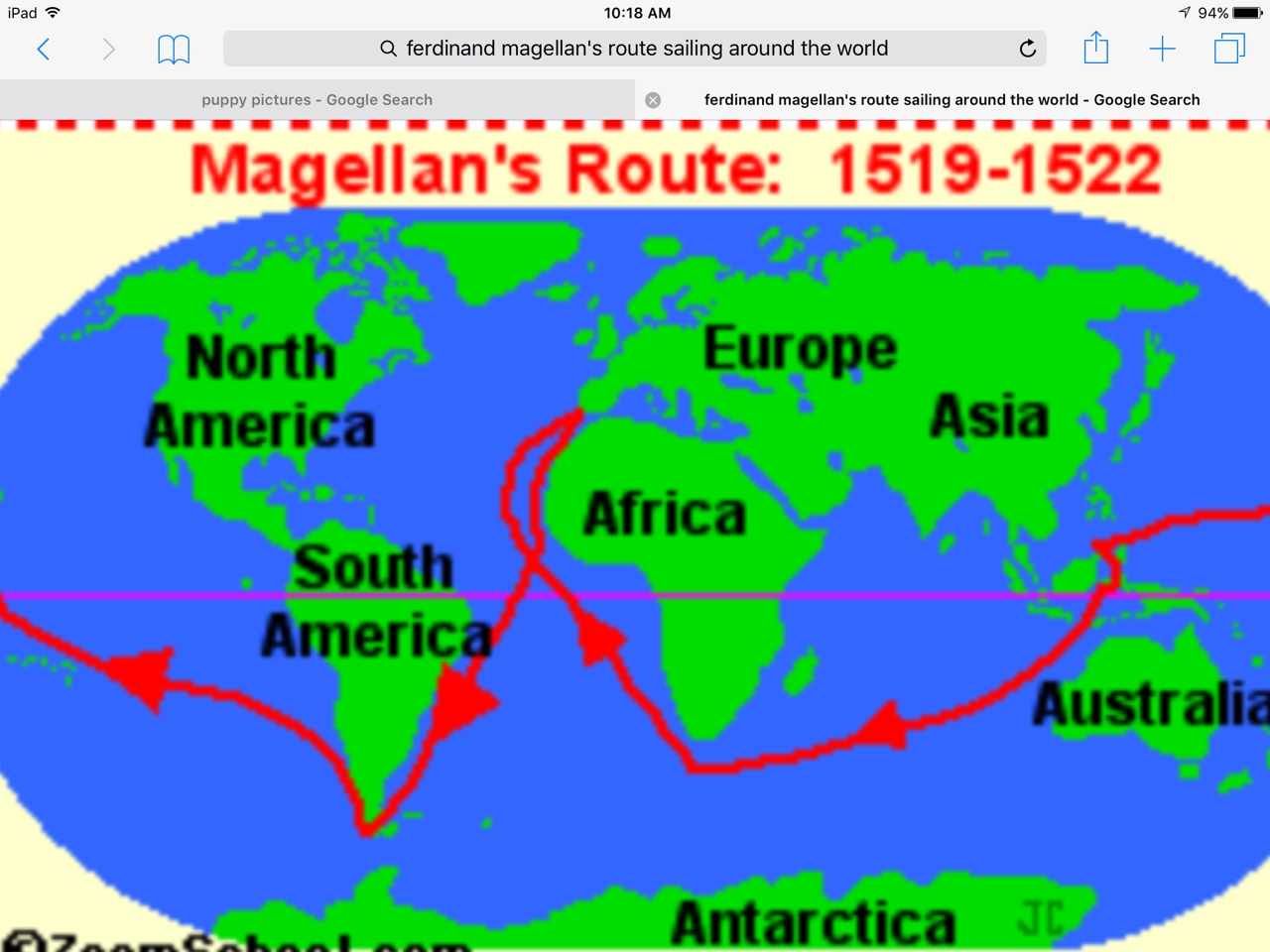the importance of magellans explorations