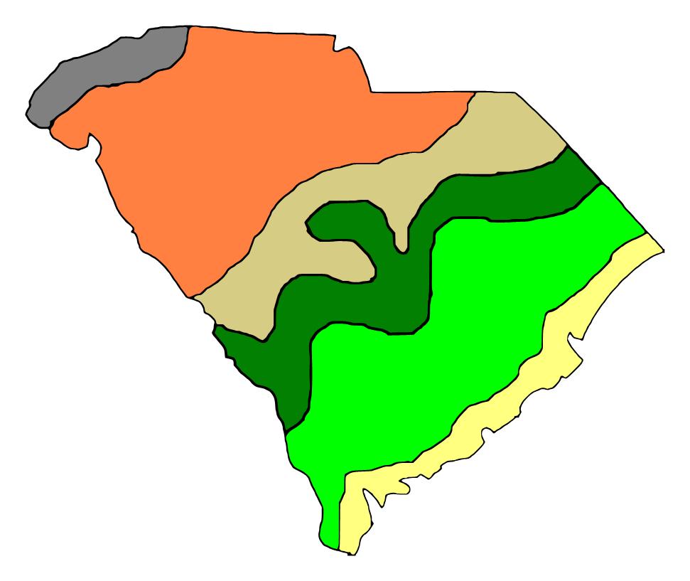 Regions of South Carolina - ThingLink