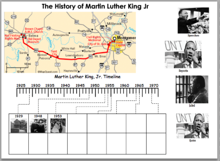 History Of Martin Luther King Jr By Jazmin Renteria