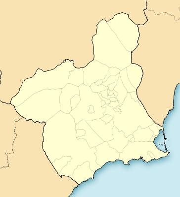 Mapa Region De Murcia.Mapa Mudo De La Region De Murcia